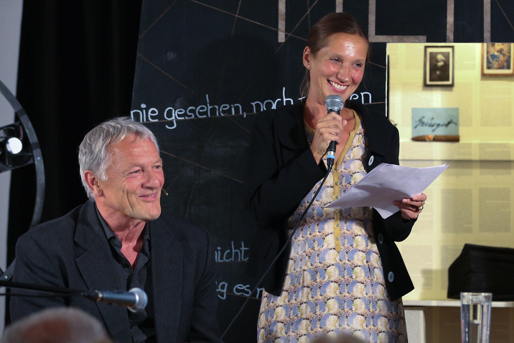 Katja Sebald und Josef Brustmann