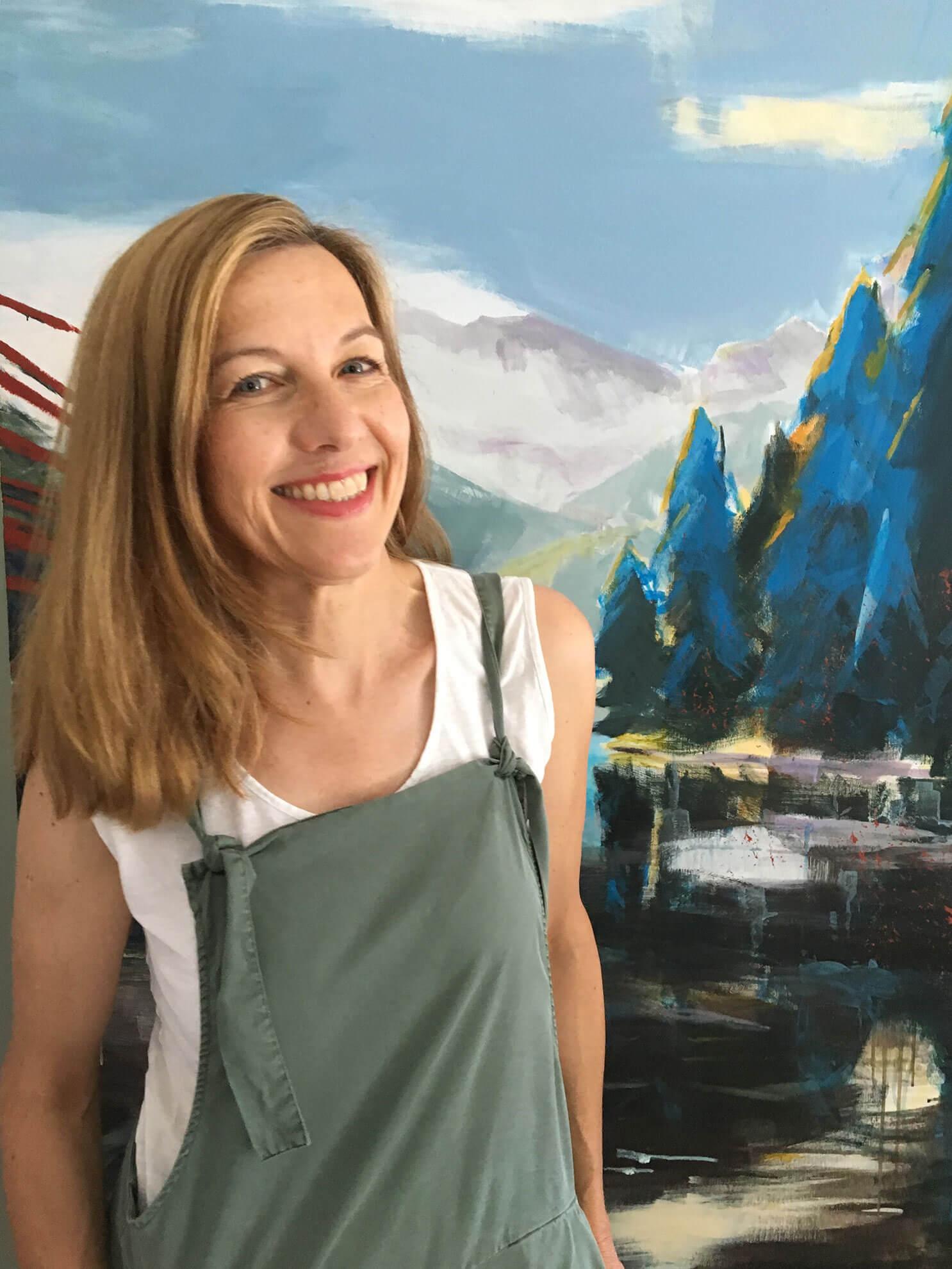 Stadtmalerin Annette Girke, Kunstwerk des Monats März, 2020
